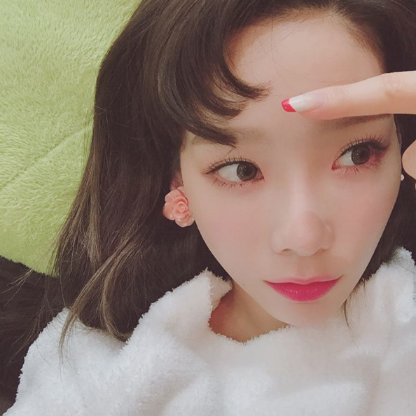 少女時代・テヨンのコンマヘア写真